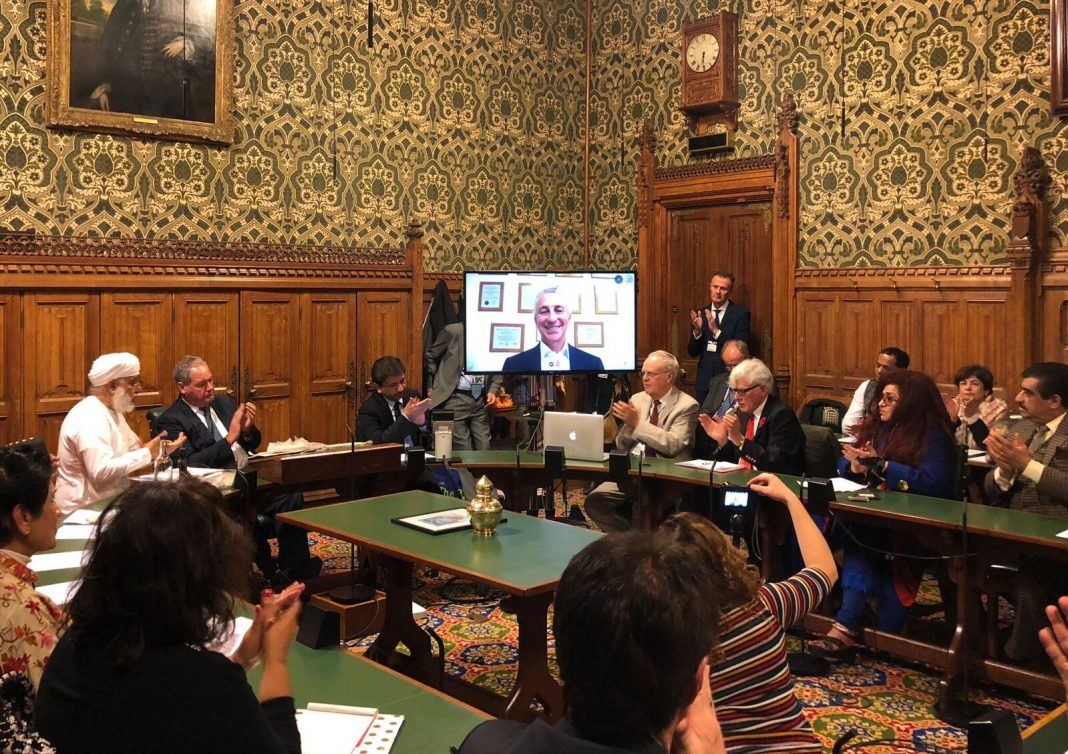 Meeting room of Ayurveda Day 2018 Houses of Parliament