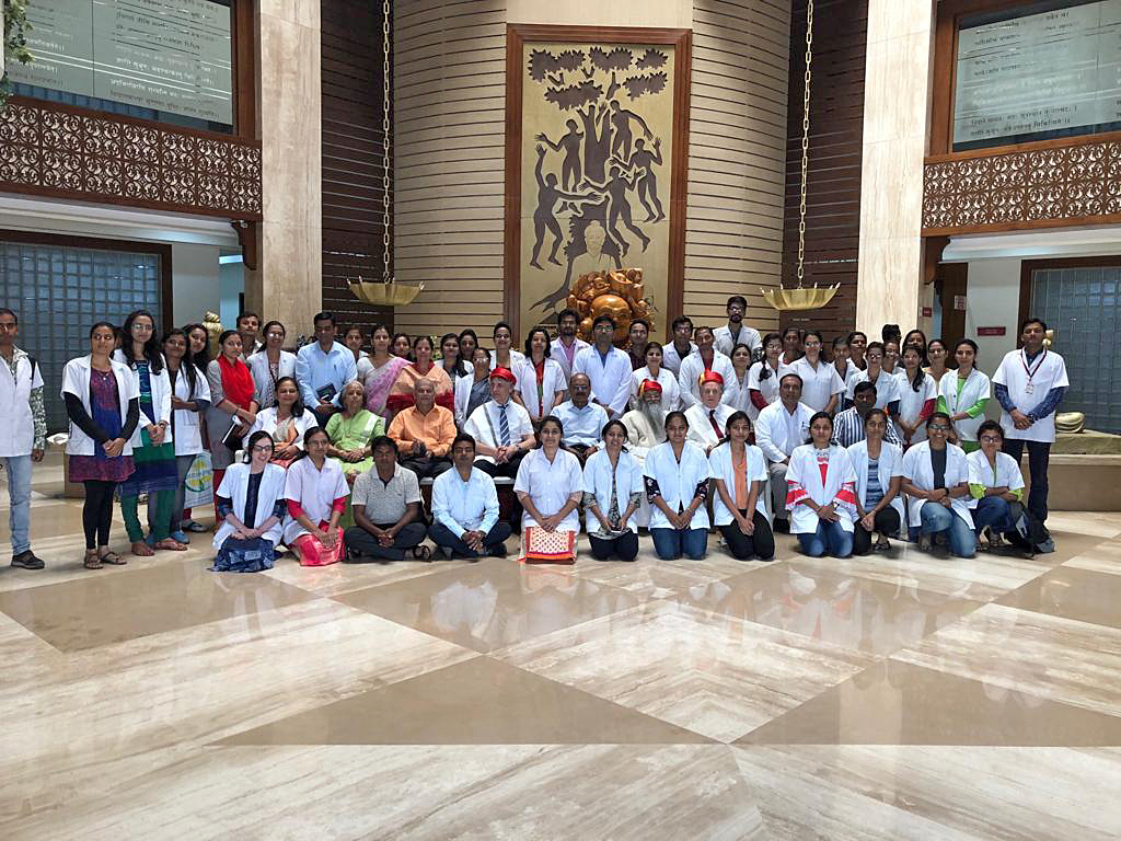Group photo 2 of College of Ayurved & Research Centre and International Maharishi Ayurveda Foundation
