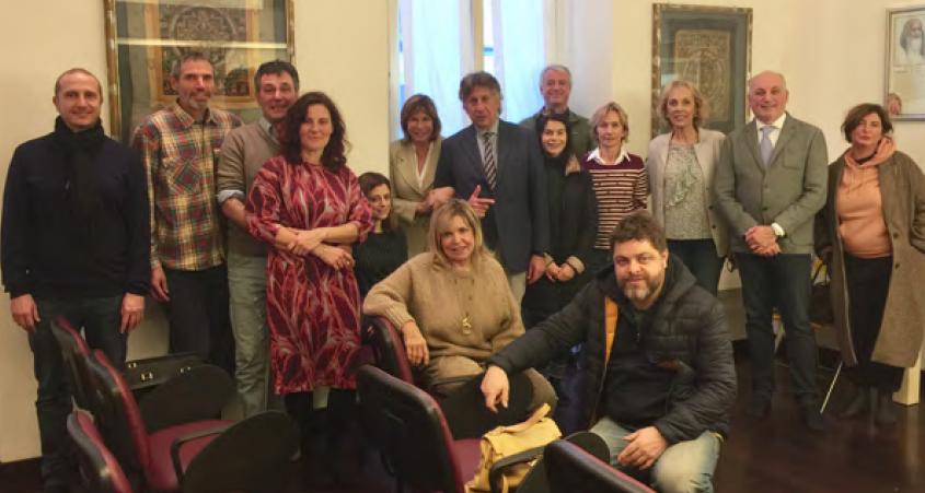 Prof Bruno Renzi, Dr med Lorenza Garghetti, Governors, Sidhas and meditators