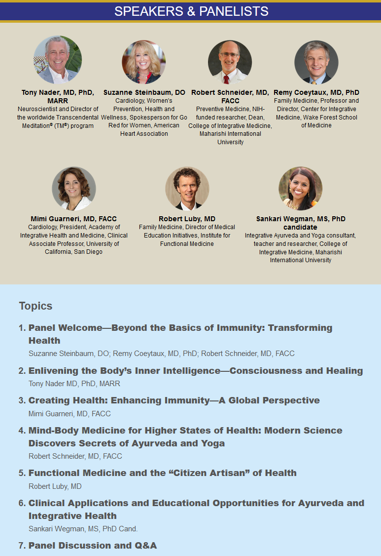 Beyond Immunity Speakers