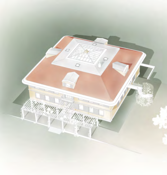 Architect's depiction of the SOMA Vitality Medical & Thermal Spa