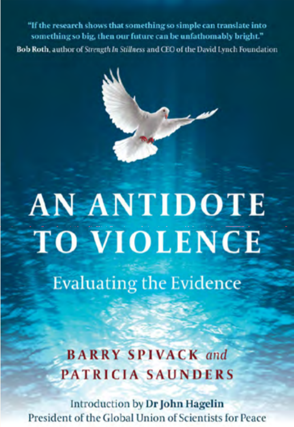 An Antidote to violence book cover
