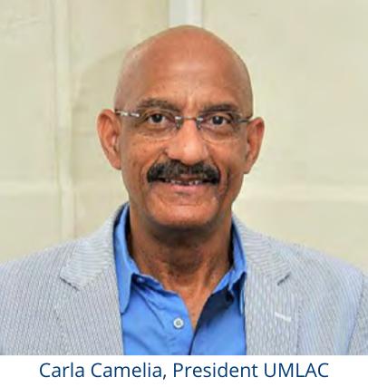 Carla Camelia, President UMLAC
