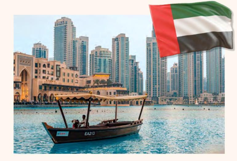 Dubai United Arab Emirates landscape